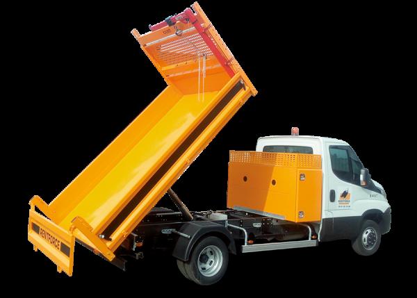 camion benne coffre aluminium