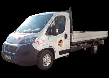 camion plateau long
